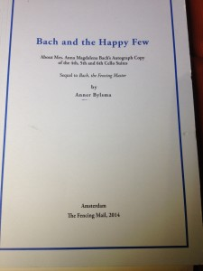 Bach and the Happy Few